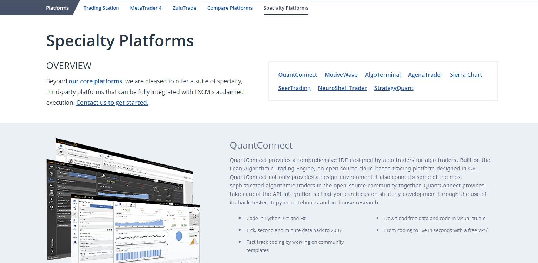 FXCM-Platforms