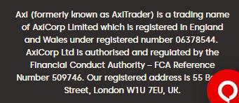 Axi-regulation