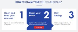 Vantage FX Bonus